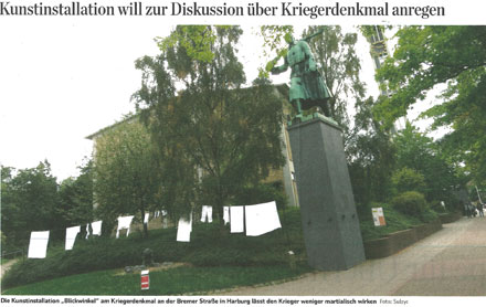 Hamburger Abendblatt Harburger RS 2.9. Bild web