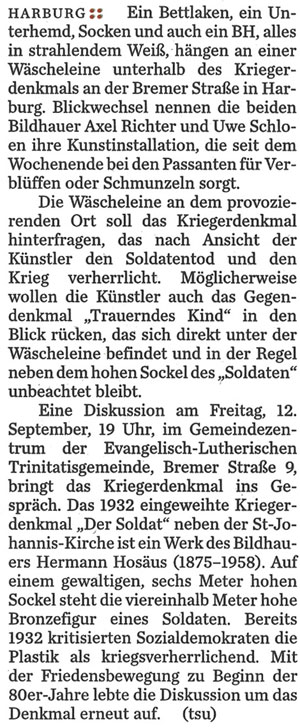 Hamburger Abendblatt Harburger RS 2.9. Text web